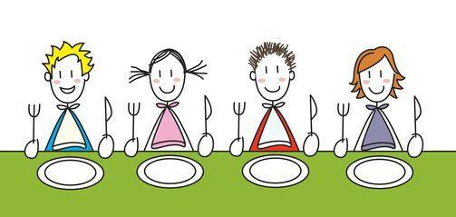 Resultado de imagen de comedor escolar dibujo